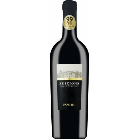 Farnese Vini Fantini Edizione Cinque Autoctoni wino czerwone wytrawne 2017