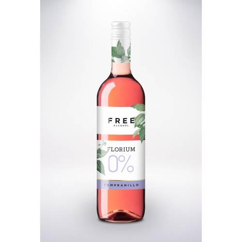 Vina Tridado Florium Tempranillo 0% wino różowe...