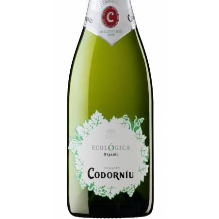 Codorniu Sant Sadurni D'Anoia Ecologica  wino musujace bio dealkoholizowane zaw. alk. 0,5