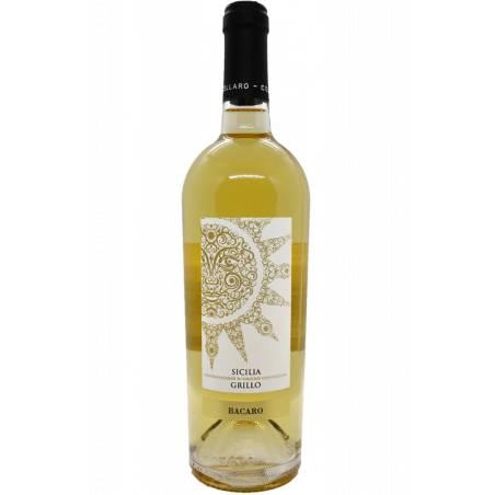Bacaro Sicilia Grillo DOC wino białe wytrawne 2020