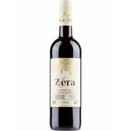 Zera Cabernet Sauvignon wino czerwone wytrawne bezalkoholowe bio wegańskie