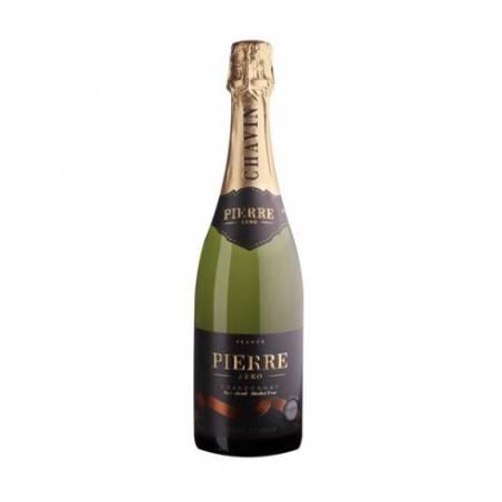 Pierre Zero Chardonnay musujące białe wino wytrawne bezalkoholowe