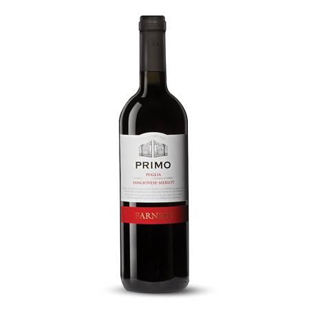 Farnese Primo IGT Puglia Sangiovese-Merlot 2019 wino czerwone wytrawne