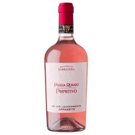 Barbanera Puglia Rosato IGT Primitivo wino różowe wytrawne