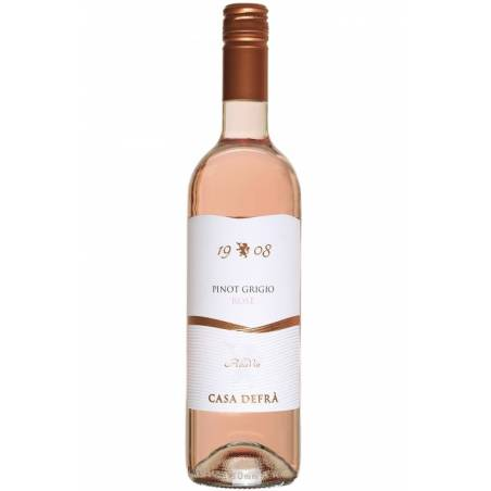 Casa Defra Pinot Grigio Rose D.O.C. wino różowe wytrawne 2019