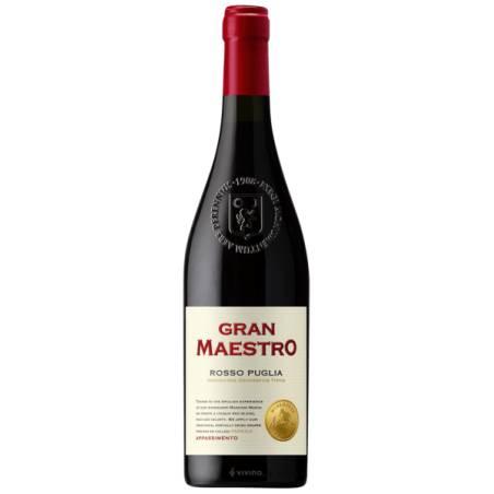 Gran Maestro Rosso Puglia IGT Appassimento wino czerwone wytrawne 2019