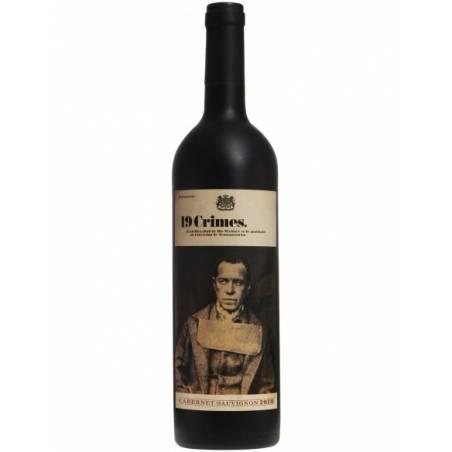 19 Crimes Cabernet Sauvignon 2019 Australijskie czerwone wino wytrawne