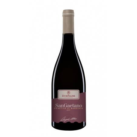 Cantine Due Palme San Gaetano Primitivo di Manduria DOP 2019 wino czerwone wytrawne