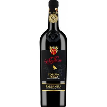 Barbanera Toscana Rosso IGT Ser Passo 2019 wino czerwone wytrawne