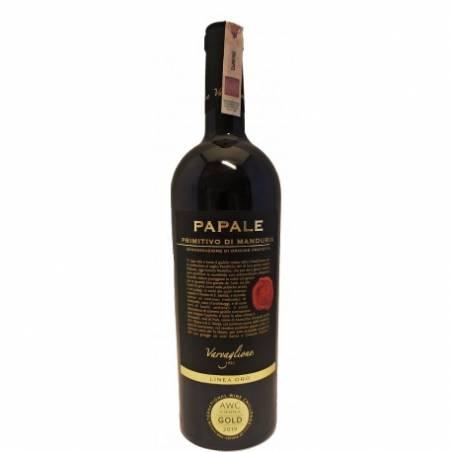Varvaglione Papale Primitivo di Manduria DOP  Linea Oro wino czerwone wytrawne 2017