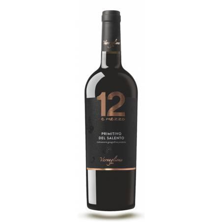 Varvaglione 12 e Mezzo Primitivo di Manduria 2017 wino czerwone wytrawne