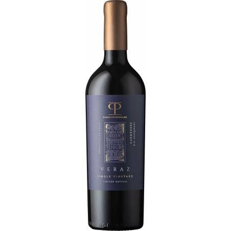 Casas Patronales Veraz Carmenere DO Cauquenes 2018 wino czerwone wytrawne