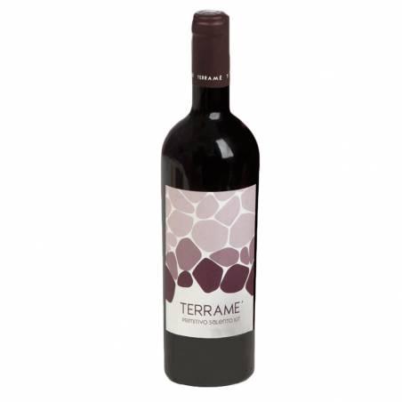 Terrame Tenuta Giustini Primitivo Salento IGT wino czerwone wytrawne