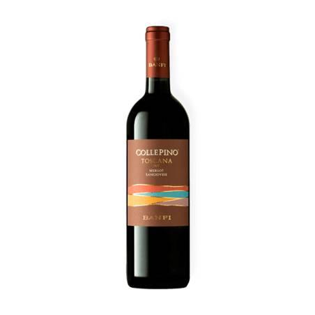Banfi Collepino Merlot Sangiovese IGT 2018 Wino czerwone wytrawne