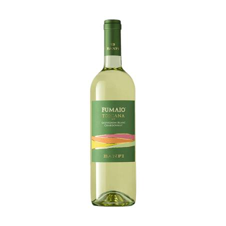 Banfi Fumaio Chardonnay Sauvignon Blanc IGT 2019 wino białe wytrawne