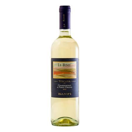 Banfi Le Rime Chardonnay Pinot Grigio IGT 2019 wino białe wytrawne