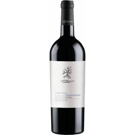 San Marzano I Tratturi Negroamaro Puglia 2019 wino czerwone wytrawne