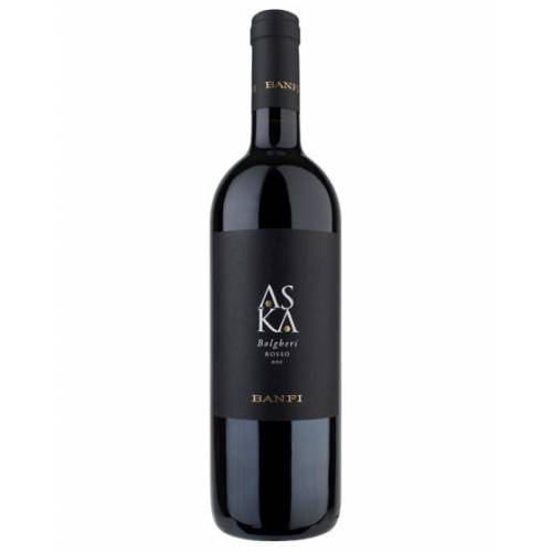 Banfi ASKA Bolgheri Rosso DOC 2015 wino czerwone...