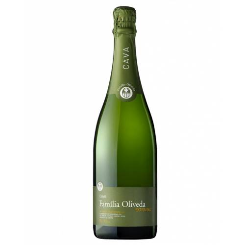 Familia Oliveda Cava wino białe musujące Extra-Sec...