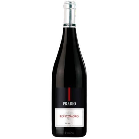 Friuli Venezia Giulia Pradio Roncomoro Merlot DOC 2016 wino czerwone wytrawne