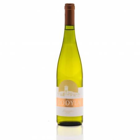 Godyla Johanniter 2019 Polskie białe wino półwytrawne 0,75