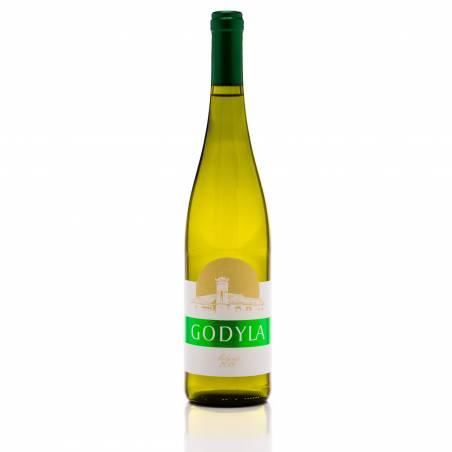 Godyla Solaris 2019 Polskie białe wino wytrawne 0,75 IDEALNE DO POLSKICH SZPARAG