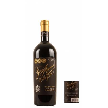 Gran Appasso Collezione Puglia IGP Primitivo 2019 wino czerwone wytrawne