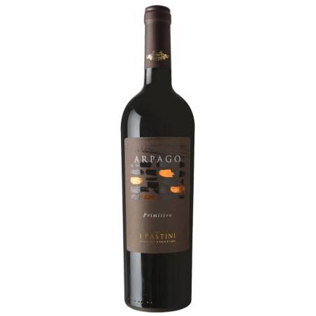 I Pastini Arpago Tarantino 100%  Primitivo 2017 wino czerwone wytrawne