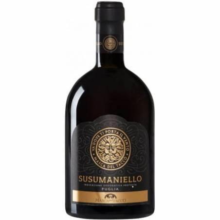 Masca del Tacco Susumaniello Puglia 2020 wino czerwone wytrawne