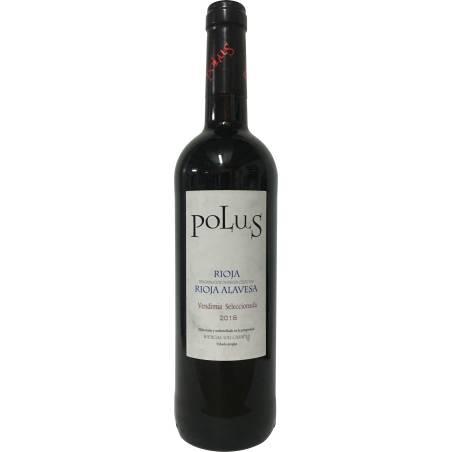 Polus Vendimia Seleccionada Rioja Alavesa 2018 wino czerwone wytrawne