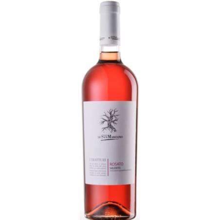 San Marzano  I Tratturi  Rosato Salento 2019 wino różowe wytrawne