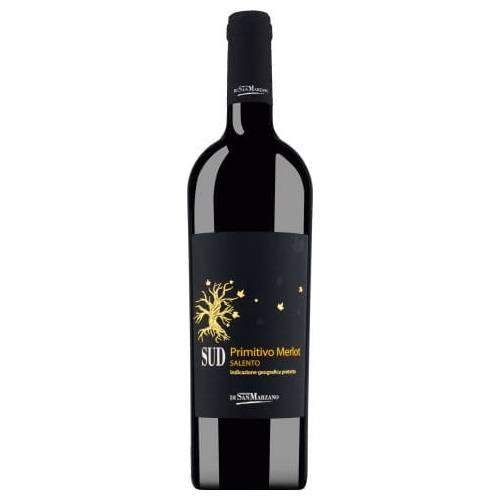San Marzano Sud Primitivo Merlot 2019 wino czerwone...