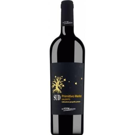 San Marzano Sud Primitivo Merlot 2019 wino czerwone wytrawne