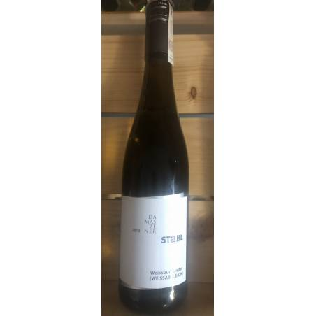 Stahl  Damaszener  Weissburgunder (Weissabgleich) 2019 wino białe wytrawne