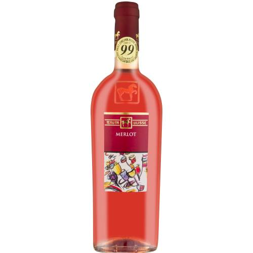 Tenuta Ulisse Merlot Rosato 2019 różowe wino wytrawne