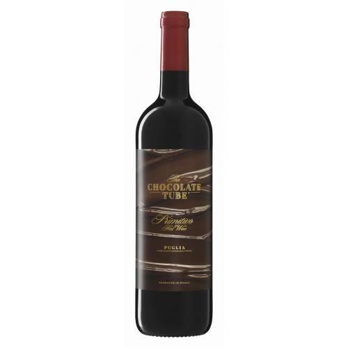 The Chocolate Tube Primitivo Puglia 2018 wino...