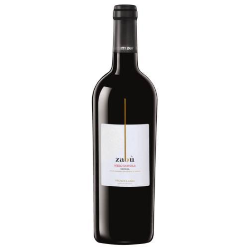 Vigneti Zabu wino czerwone wytrawne Nero D'Avola DOC...
