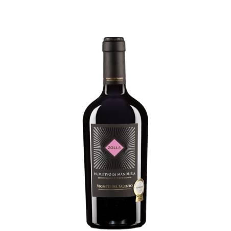 Vignietti del Salento Zolla Primitivo di Manduria 2019 wino czerwone wytrawne