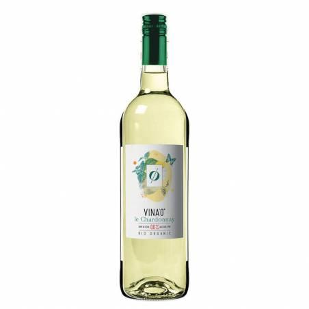 Vina'0 le Chardonnay ekologiczne białe półsłodkie wino bezalkoholowe 0,0%