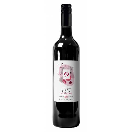 Vina'0 le Merlot Bio ekologiczne czerwone wino...