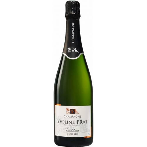 Yveline Prat Champagne Tradition Demi-Sec 0,75l