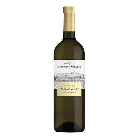 Georgian Valleys Alzani Valley wino białe półsłodkie 2019