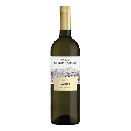 Georgian Valleys Sachino wino białe półwytrawne 2019