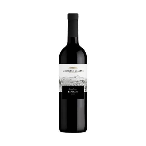 Georgian Valleys Saperavi wino czerwone wytrawne 2018