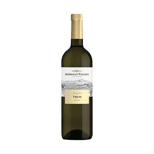 Georgian Valleys Tbilisi wino białe wytrawne 2019