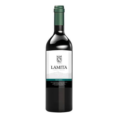 Lamita Mendoza Argentina wino czerwone wytrawne Malbec 2019