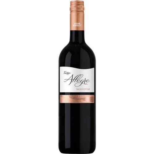 Terre Allegre Sangiovese Puglia  IGT wino czerwone...