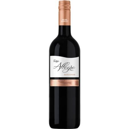 Terre Allegre Sangiovese Puglia  IGT wino czerwone półsłodkie