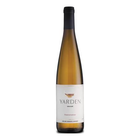 Yarden Gewurztraminer izraelskie białe wino wytrawne 2018