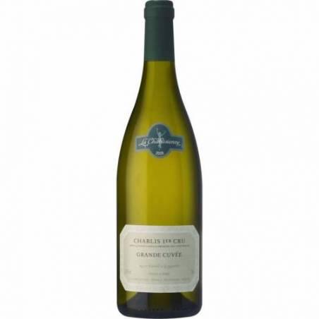La Chablisienne Montmains wino białe wytrawne Chablis 1er CRU 2016
